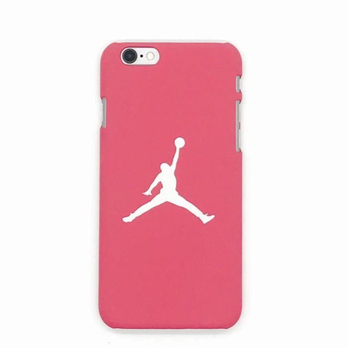 coque iphone 6 jordan rose