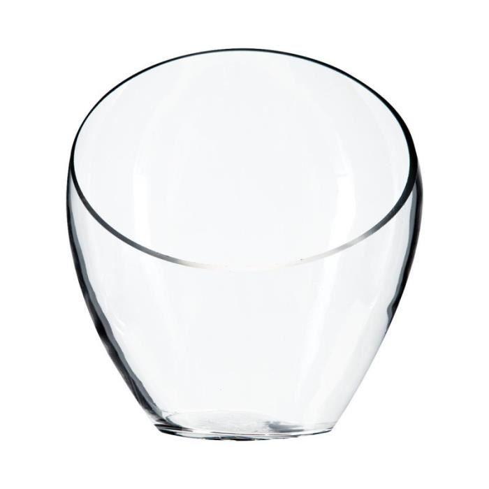 vase transparent achat vente vase transparent pas cher soldes d s le 10 janvier cdiscount. Black Bedroom Furniture Sets. Home Design Ideas