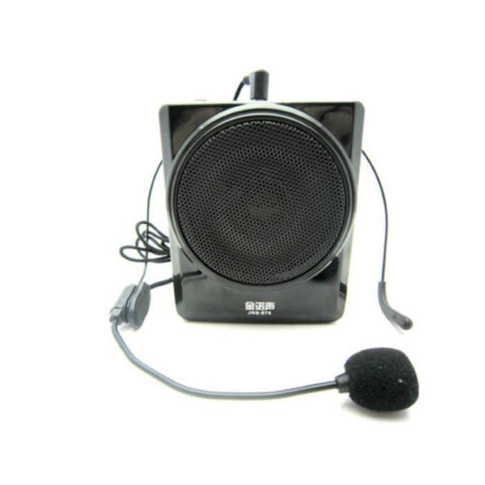 38W ceinture Portable voix Booster PA Mini amplificateur haut-parleur Fm  pour enseignants entraîneurs Tour Guides(JNS-878) 21330d1eb88