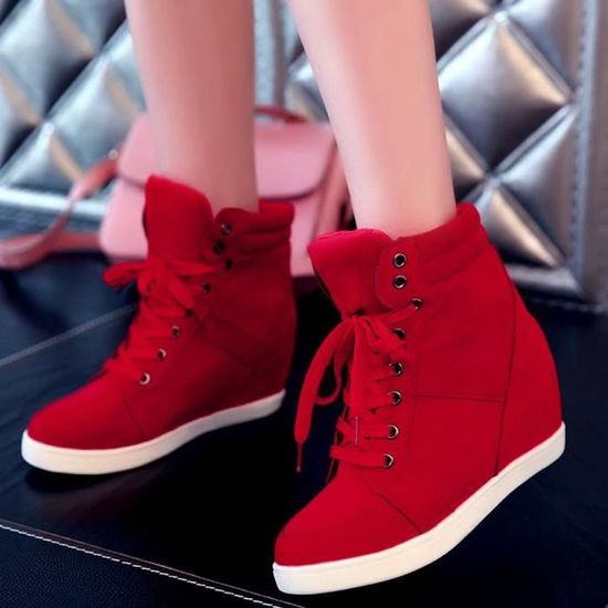 Beguinstore® femme Slip-On Bout Rond Papillon-Knot Casual Chaussures Sandales Chaussures Confortables Casual Papillon-Knot Kaki_love3988 Rouge Rouge - Achat / Vente slip-on 12bf0a