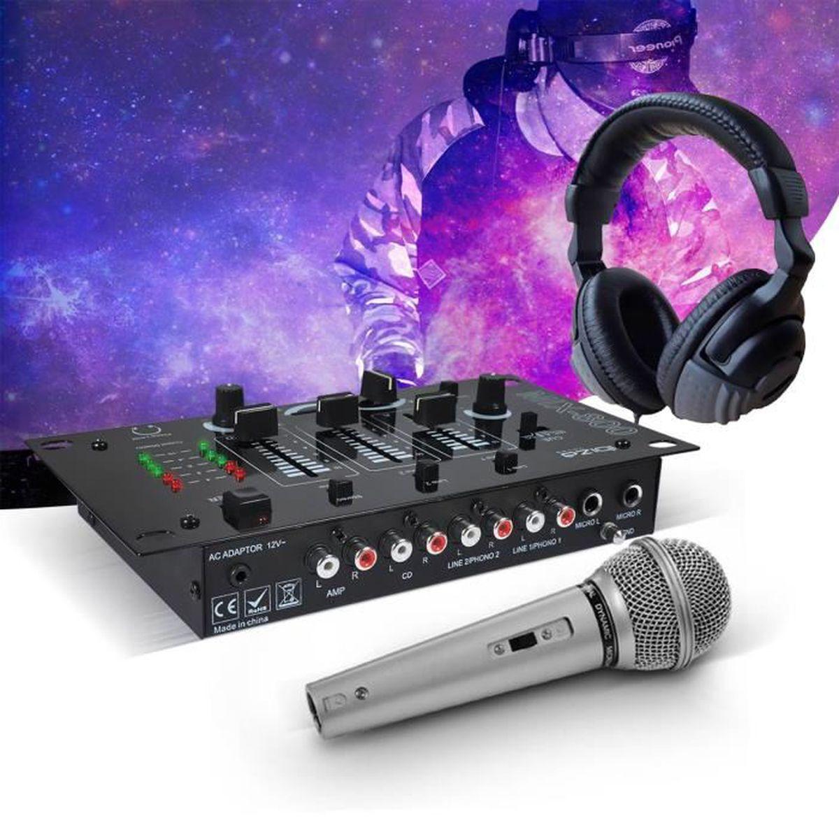 table de mixage ibiza mix-800