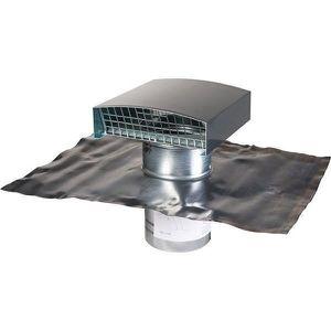 VMC - ACCESSOIRES VMC Sortie de toit finition ardoise - Ø 150 mm - VMC d
