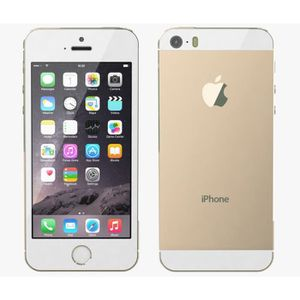 SMARTPHONE  Iphone 5S Blanc Or 16Go