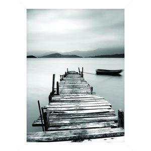CADRE PHOTO Cadre pour coffre ou étagère Quai Lac - 18 x 24 cm