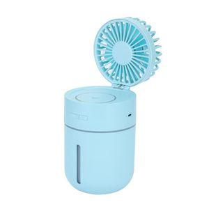 VENTILATEUR Ventilateur de Brumisateurs Rechargeable USB Mini