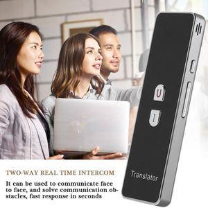TRADUCTEUR ÉLECTRONIQUE Traducteur de poche portable 2.4G Bluetooth Traduc
