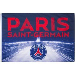 DRAPEAU - BANDEROLE Drapeau PSG - Collection officielle Paris Saint Ge