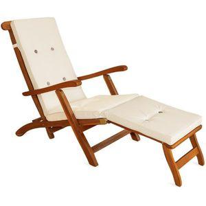 CHAISE LONGUE Detex® Coussin pour chaise longue 173 cm - Matelas