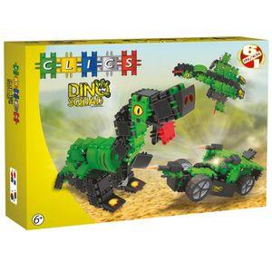 ASSEMBLAGE CONSTRUCTION Clics-Jeux de construction-Boîte Brigade Dino