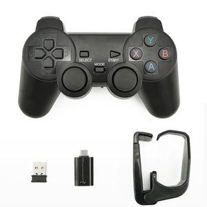 MANETTE JEUX VIDÉO micro usb Contrôleur de jeu Joypad sans fil 2.4G a