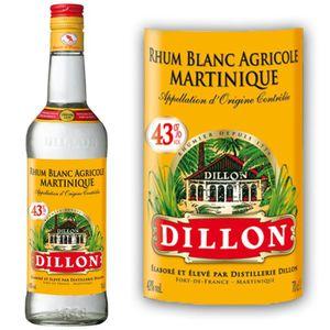 RHUM Rhum Blanc Dillon 43% 70cl