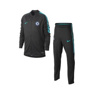 TENUE DE FOOTBALL Survêtement Chelsea Squad Noir Junior