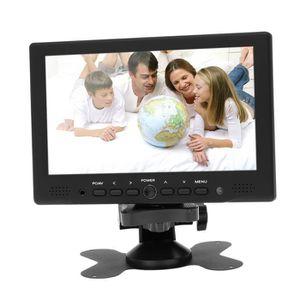 ÉCRAN VIDÉOSURVEILLANCE 7 pouces HDMI TFT LED HD moniteur Avec VGA+AV pris