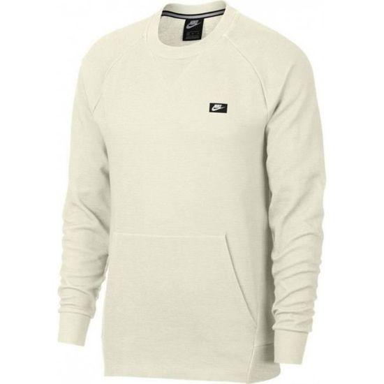 Optic Sweatshirt 928465 Achat 133 Beige Nike Sportswear Owvx1