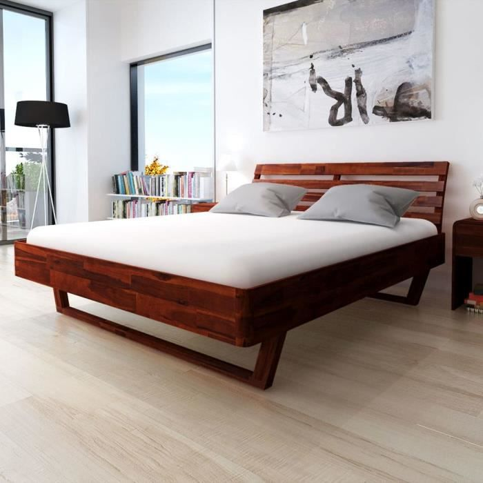Lit En Bois Dimarlinperezcom - Lit design en bois