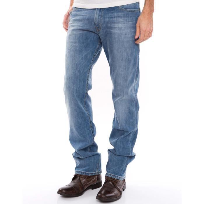 b4ff37e3 Jeans LEVIS 506 Standard Harbour... Bleu - Achat / Vente jeans ...