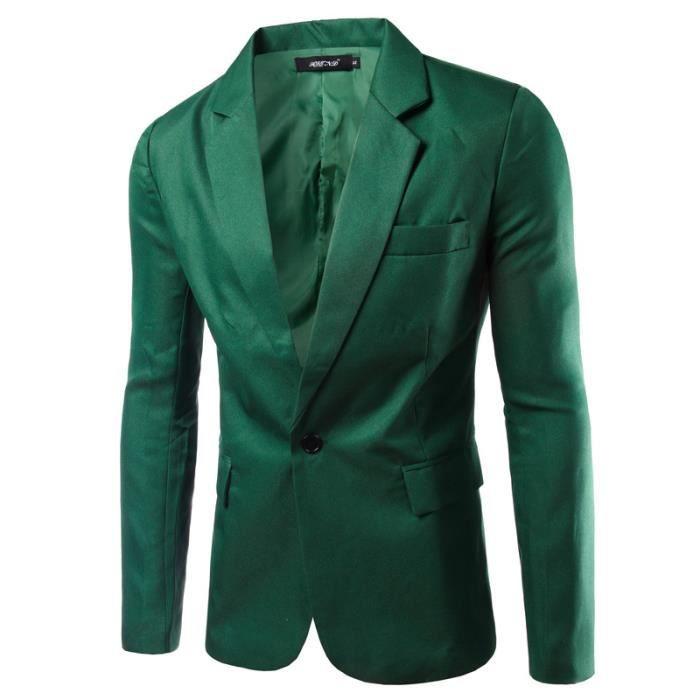 A Vern Veste De Costume Pour Hommes Blazer Vert Vert Achat