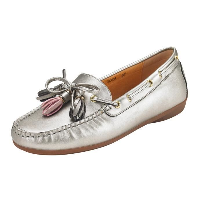 Tassel Suede Penny Loafers For Women: Vegan Leather Bow Knot Slip-on Driving Moccasins ES4O9 Taille-38 1-2
