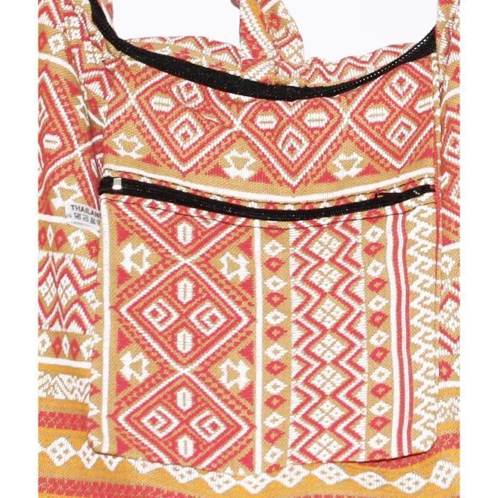 Hippie Classics Croix Boho colorée épaule Bohême Hobo Body Bag A9VZX