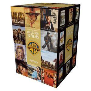 DVD FILM DVD Coffret 90 ans Warner : 10 westerns