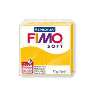 FIMO Boîte 6 Pi?ces Fimo Soft Jaune Soleil N°16