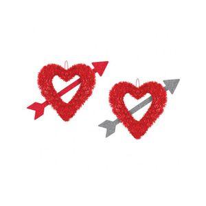 D coration saint valentin - Idee saint valentin deco murale originale avec coeur geant ...