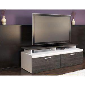 Plateau wenge achat vente plateau wenge pas cher for Meuble tv blanc plateau bois