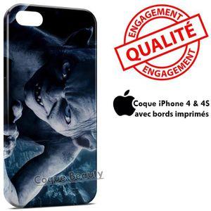 COQUE - BUMPER Coque iPhone 4 & 4S Gollum