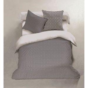 parure de draps en flanelle achat vente pas cher. Black Bedroom Furniture Sets. Home Design Ideas