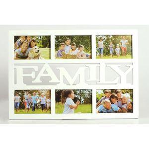 PÊLE-MÊLE PHOTO cadre photo multivues FAMILY