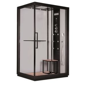 CABINE DE DOUCHE GELCO Cabine de douche intégrale Black hydromassan