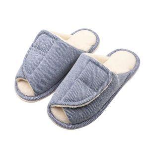 CHAUSSON - PANTOUFLE chaussure glissière pour femmes chaussure en épong