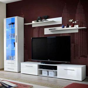 Meuble tv avec bibliotheque achat vente meuble tv avec - Meuble tv avec bibliotheque ...