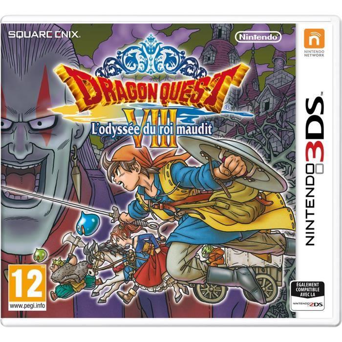 Dragon Quest VIII L'Odyssée du roi maudit Jeu 3DS