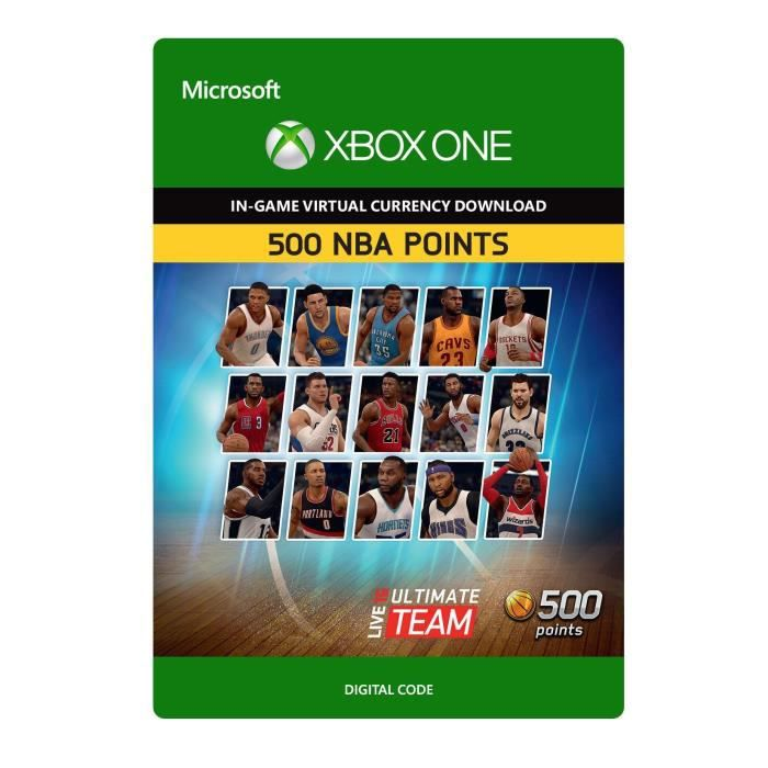 DLC NBA Live 16 Ultimate Team : 500 Points pour Xbox One