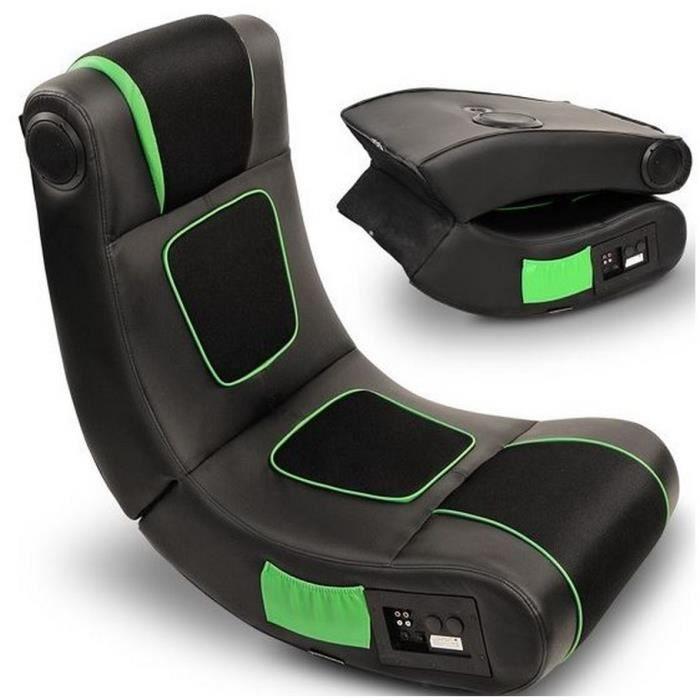 fauteuil siege multimedia haut parleur enceinte gamer. Black Bedroom Furniture Sets. Home Design Ideas