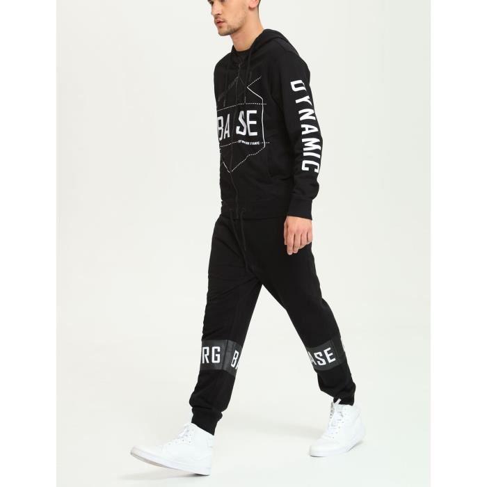 Adidas Originals Sweat Zippé à Capuche Noir Femme DH4665