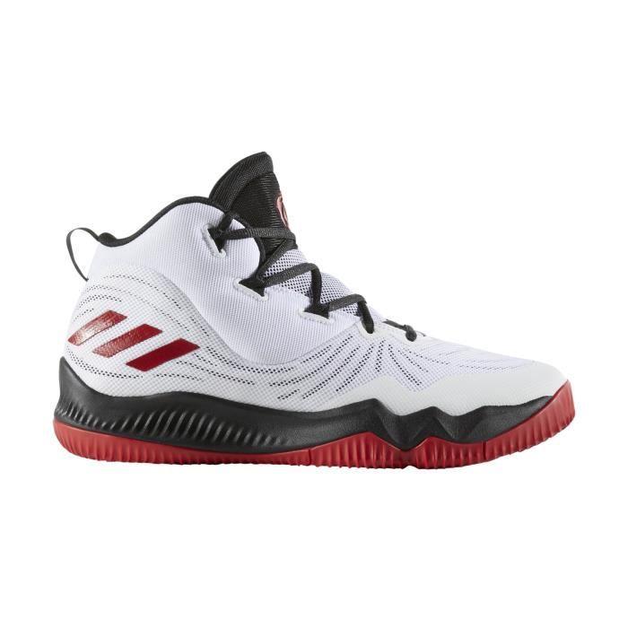 huge discount 773ba d310a Chaussures basketball adidas Basket Derrick Rose Dominate III Blanc