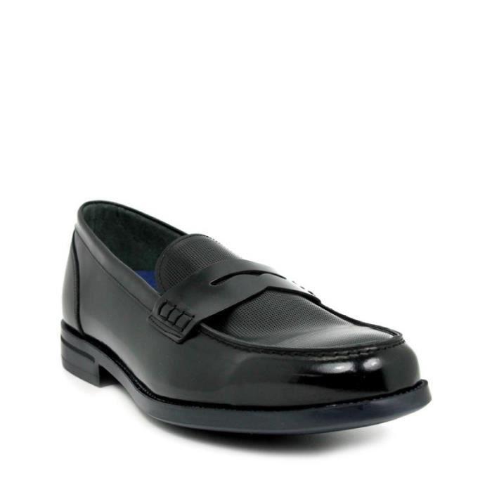 ANGEL INFANTES Chaussures Mocassin En Peau De Florantic - Noir - Taille - Quarante-deux Homme Ref. 1623_36283 XtQxu5q7il