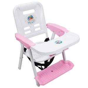 Chaise a bascule rose achat vente chaise a bascule for Chaise a bascule bebe