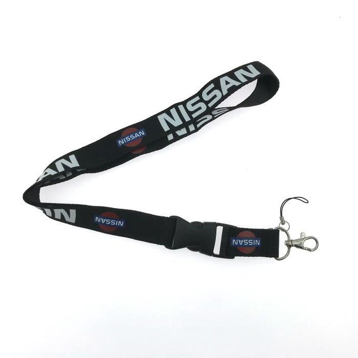 PC NISSAN Logo Auto Lanière Cordon Porteclés Porte Badge Tour De - Cordon porte clé