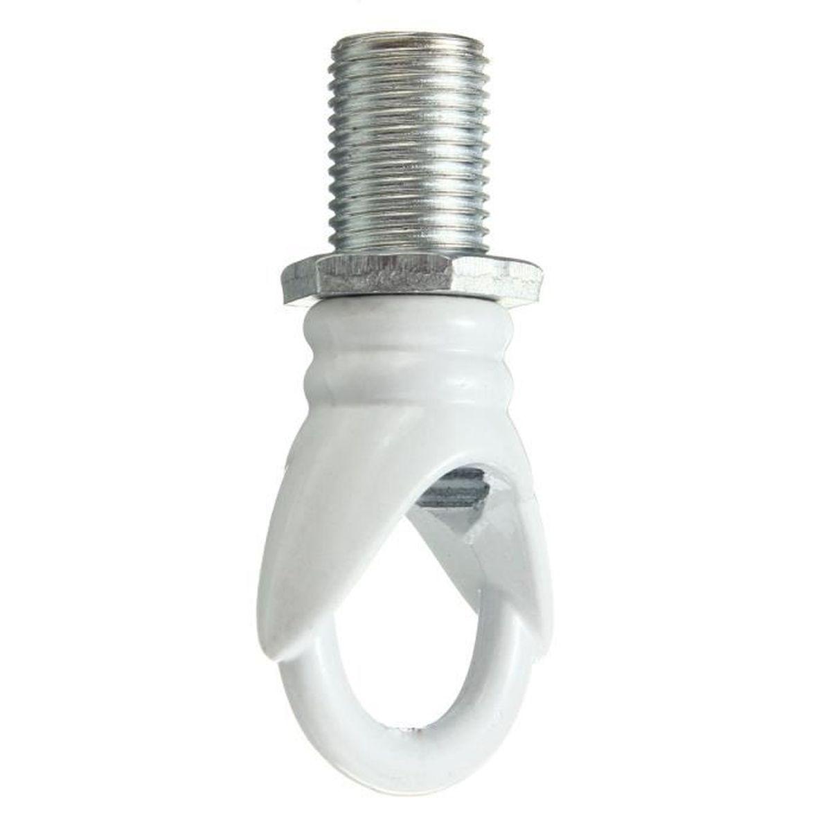 Crochet Pour Lustre dedans u crochet pour lustre accessoires de lampe décoration blanc - achat