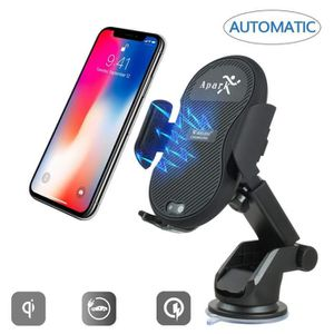 FIXATION - SUPPORT Support Téléphone Voiture, Chargeur automatique de