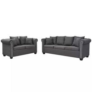 canap sofa divan r16 ce jeu de canape confortable a un design sophi - Canape Profond