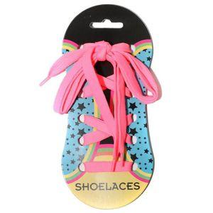 LACET  Shoelaces Homme Femme Enfant Lacets Rose U
