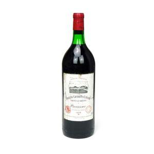 VIN ROUGE 1978 - Magnum Château Grand Puy Lacoste - Pauilla