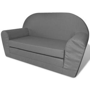 CHAISE Magnifique vidaXL Chaise longue pliable pour enfan