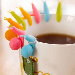 PORTE FRUITS - COUPE  porte de sachet de thé tasse escargot en Silicone