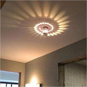 APPLIQUE  Applique Murale Interieur LED Moderne 5W Blanc Cha