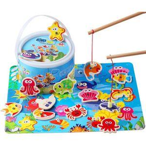JEU D'APPRENTISSAGE océan pêche enfants jouets éducatifs garçon fille
